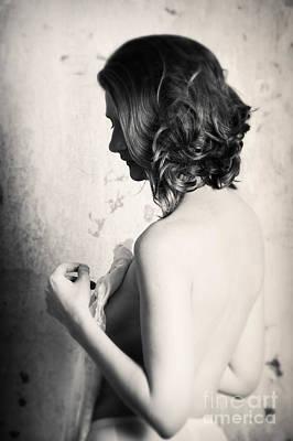 Photograph - Girl #8766 by Andrey Godyaykin