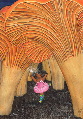 Painting - Girl Bear In Galoshes by Catherine G McElroy