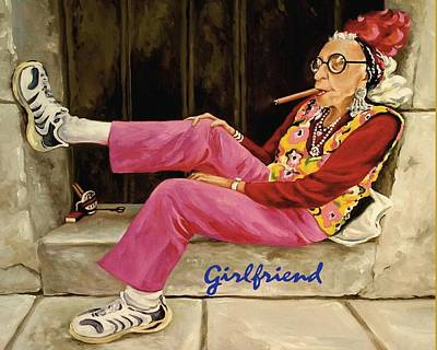 Painting - Girl Friend by Chambers and Tamra