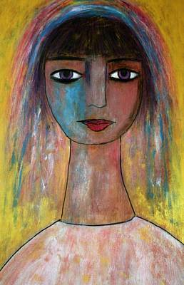Girl From India.. Art Print