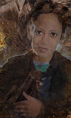 Girl From Samarra Art Print