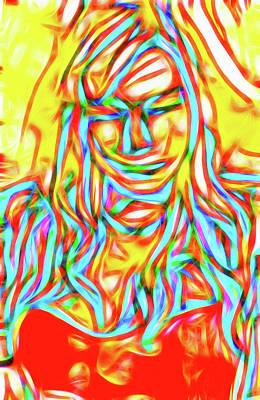 Luminous Body Painting - Girl I by Nick Arte