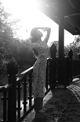 Photograph - Girl In Sunshine by Tran Minh Quan