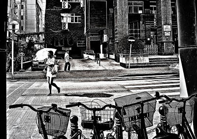 Photograph - Girl In The Shanghai Sun by Patrick Kain