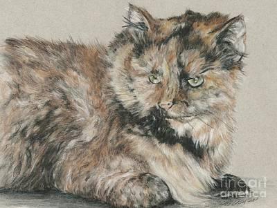 Drawing - Girl  by Meagan  Visser