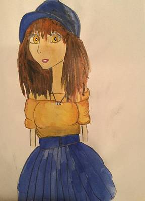 My Art Painting - Girl  by My Art