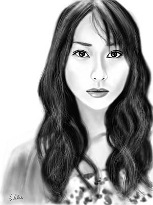 Painting - Girl No.183 by Yoshiyuki Uchida