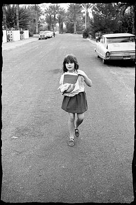 Photograph - Girl On 13th Street, 1971 by Jeremy Butler