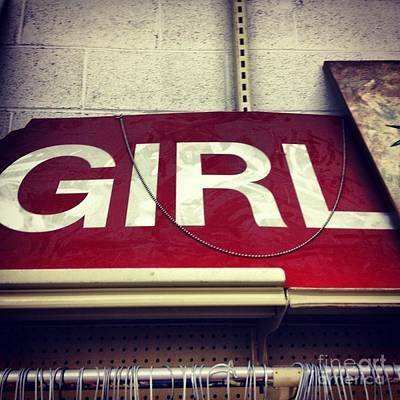 Photograph - Girl Power by Elizabeth Hoskinson