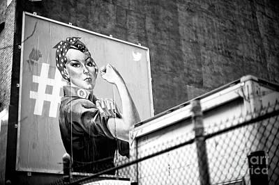 Photograph - Girl Power by John Rizzuto