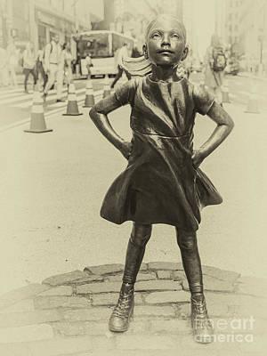 Photograph - Girl Power by Robin Zygelman