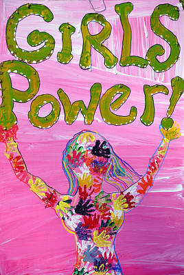 Photograph - Girl Power Sign by Rose  Hill