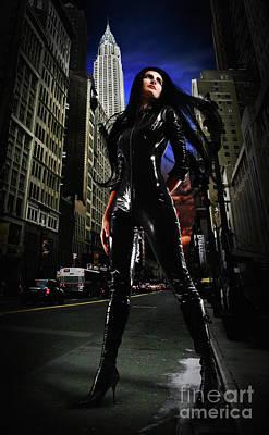 Photograph - Girl Superhero Costume City Of Heroes by Dimitar Hristov