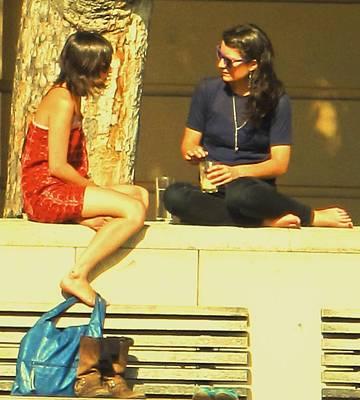 Photograph - Girl Talk by Ian  MacDonald