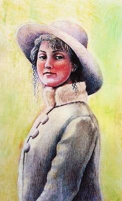 Cowgirl Mixed Media - Girl With A Horse Heart by Lynda Clark