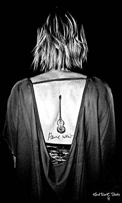 Hofner Photograph - Girl With The Hofner Tattoo by Keri Butcher