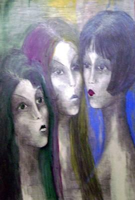 Girl Art Print by Wojtek Kowalski