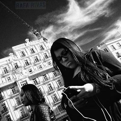 Girl Photograph - #girl #woman #people #instapeople by Rafa Rivas