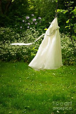 Snag Photograph - Girls Dress by Amanda Elwell
