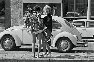 Photograph - Girls by Hans Janssen