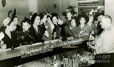 Bootleg Photograph - Girls Night Out by Jon Neidert