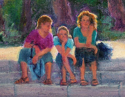 Painting - Girls Of Athens by Jill Musser