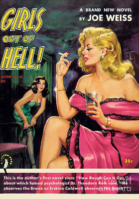 Girls Out Of Hell Art Print