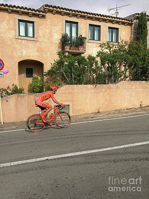 Photograph - Giro D'italia Passes In San Pataleo, Italy by Patricia Hofmeester