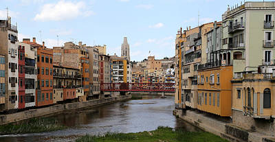 Photograph - Girona 1 by Andrew Fare