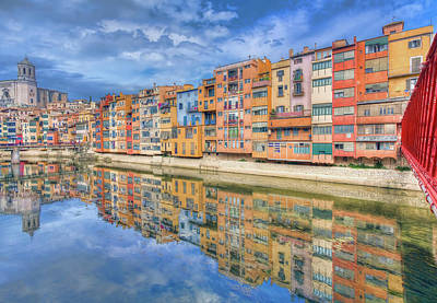 Photograph - Girona City by Nadia Sanowar