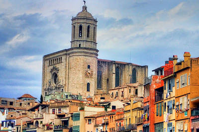 Photograph - Girona Spain by Nadia Sanowar