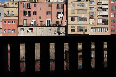 Girona Photograph - Girona Urban Scenery by Artur Bogacki