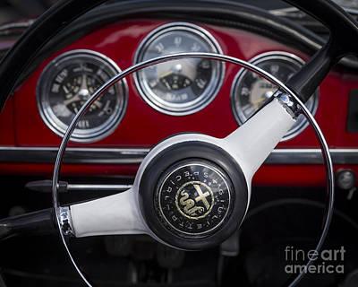 Photograph - Giulietta Spider by Dennis Hedberg