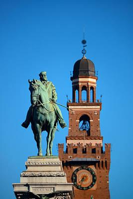 Photograph - Giuseppe Garibaldi Monument by Songquan Deng