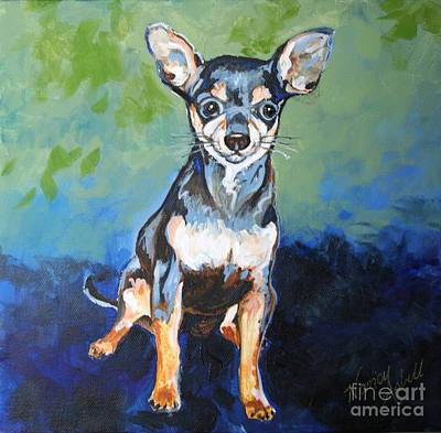 Painting - Giuseppe by Michele Hollister - for Nancy Asbell