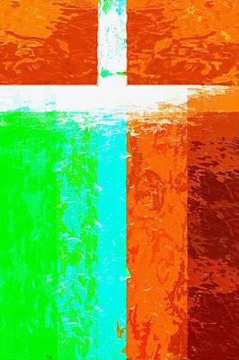 Digital Art - Give God The Praise Five by Payet Emmanuel