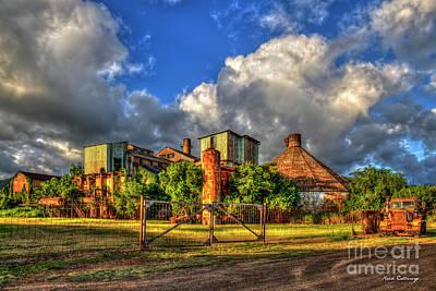 Photograph - Give Me Some Sugar Old Koloa Sugar Mill Sunset Kauai Landscape Art by Reid Callaway