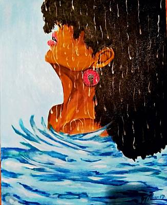 Inner Self Painting - Give Me Strength by Joy Monroe