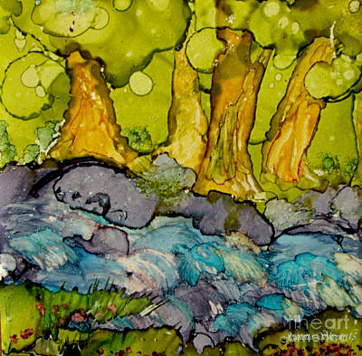 Painting - Give Said The Little Stream by Jeanette Skeem