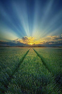 Photograph - Give Us This Day by Phil Koch