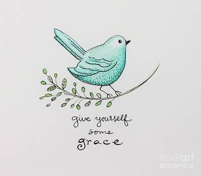 Painting - Give Yourself Some Grace by Elizabeth Robinette Tyndall