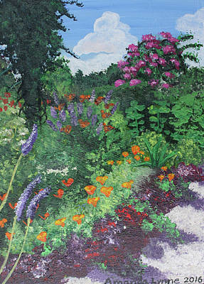 Painting - Giverny by Amanda Lynne