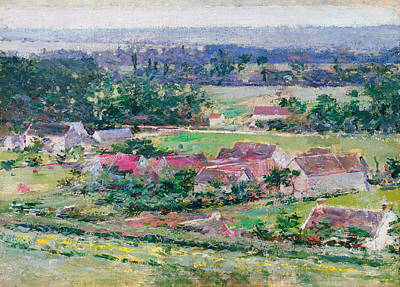 Painting - Giverny by Theodore Robinson
