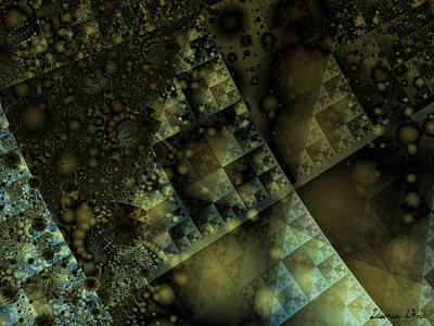 Fractal Geometry Digital Art - Giza by Lauren Goia