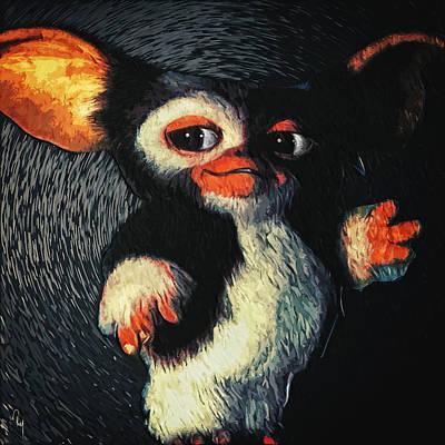Gizmo Art Print by Taylan Apukovska