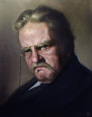 G.k. Chesterton Art Print by Eric  Armusik