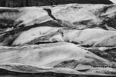 Photograph - Glacial Abstract by Stuart Gordon