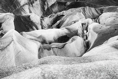 Photograph - Glacial Abstract V by Stuart Gordon