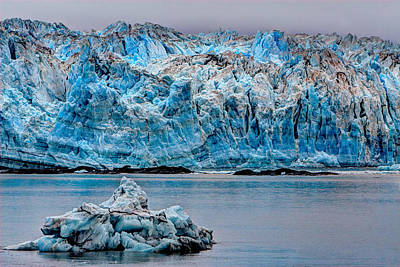 Photograph - Glacial Blue by David Andersen