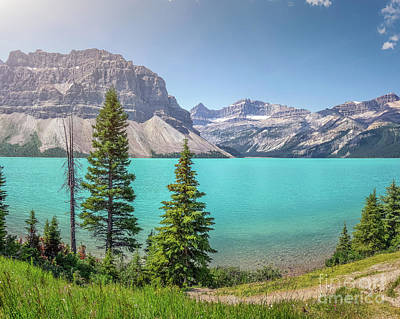 Photograph - Glacial Colors by JR Photography
